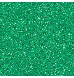 Emerald glitter background vector image vector image