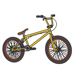 BMX bike vector image