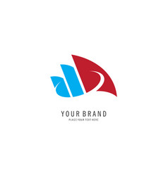 Business finance symbol logo vector