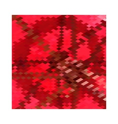 Carmine Red Star Abstract Low Polygon Background vector