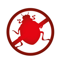 Circle with restricted beetle virus vector