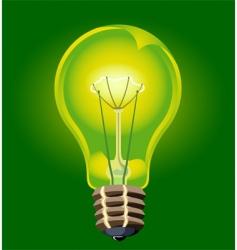 Electric bulb vector