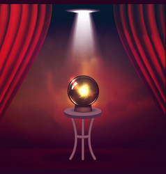 The concept of magic shows and entertainment vector