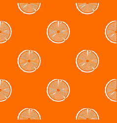 tree ring pattern seamless vector image vector image