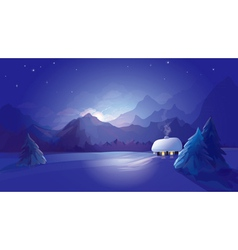 winter vector image