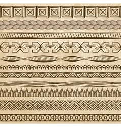 hand-drawn lines on grunge background vector image