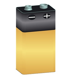 battery 11 v vector image vector image