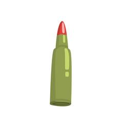 Bullet cartoon vector
