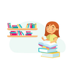 education back to school and knowledge concept vector image