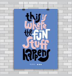 Kids room quotes vector