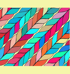Simple bold pattern with wide brushstrokes vector