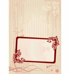 wallpaper frame vector image