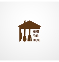 Food Logo Concept vector image
