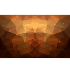 Triangular gold texture vector image
