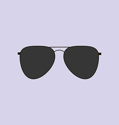 Aviator Glasses Icon vector image