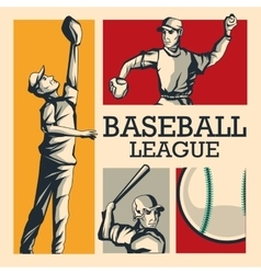 Baseball player Sport design graphic vector image