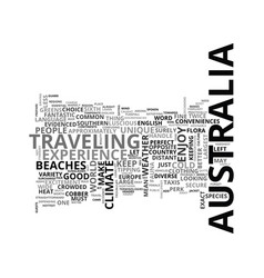 Beat the heat in australia text word cloud concept vector