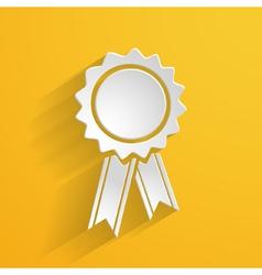 bright 3d emblem vector image