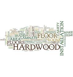 Five tips to help choose proper hardwood vector