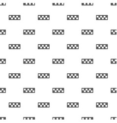 taxi cab pattern seamless vector image