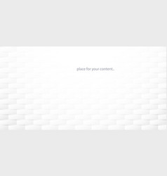 white abstract background with empty space vector image