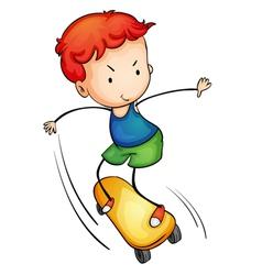 Active kid vector image vector image