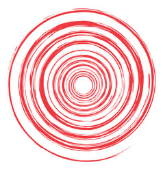 image of drawing spirals vector image