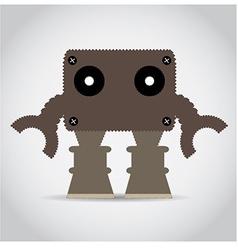 8-bit object vector image
