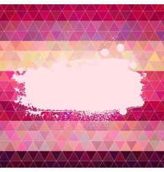Abstract background Varied colors polygon style vector image