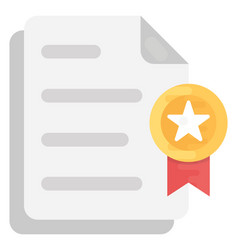 Certified document vector