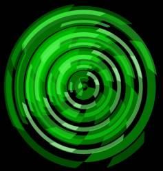 Circular tech mandala vector