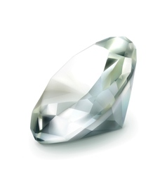 Diamond object vector image