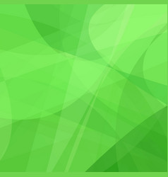 Green curved abstract motion background vector