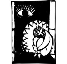 Jaws depression vector