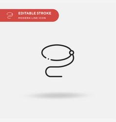 Lasso simple icon symbol vector
