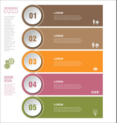 modern design template 3 vector image