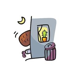 Thief Cartoon vector