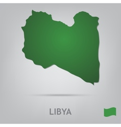 country libya vector image vector image
