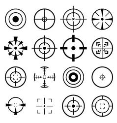 Crosshair Icon vector image
