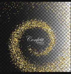 decoration confetti element for design vector image