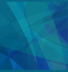 Blue curved motion background - graphic design vector