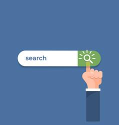 Click search bar vector