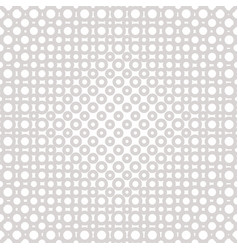 Halftone seamless pattern with circles rings dots vector
