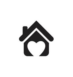 home care icon design vector image