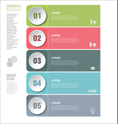 modern design template 2 vector image