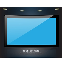 Monitor Background vector image
