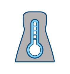 Nuclear plant temperature vector