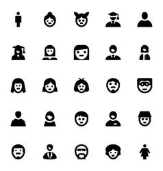 People Avatars-1 vector image