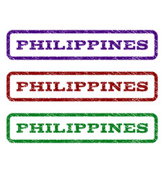 Philippines watermark stamp vector