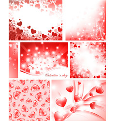 Valentine collection vector